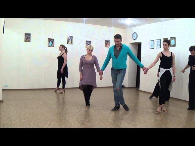 Латиноамериканские танцы обучение (часть-3) Используй вращение как преимущество. Дмитрий Трошин