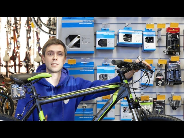 Stels Navigator 610 V V030 (2018) / обзор горного велосипеда Стелс Навигатор