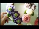 앙금플라워 클레마티스,장미,퐁퐁국화 /Clematis,Rose,pompon/ beanpaste flower piping
