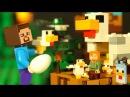 🐤 КУРЯТНИК для ЛЕГО НУБика Майнкрафт Мультики LEGO Minecraft - Видео Мультфильмы для Д...