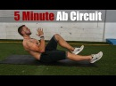 5 Minute Ab Circuit At Home   Overtime Athletes