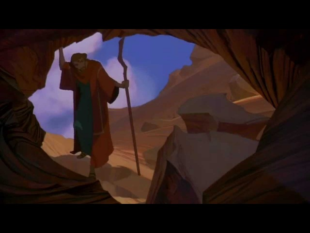 The Prince Of Egypt 1998 : Moses meets God (HD) Unedited