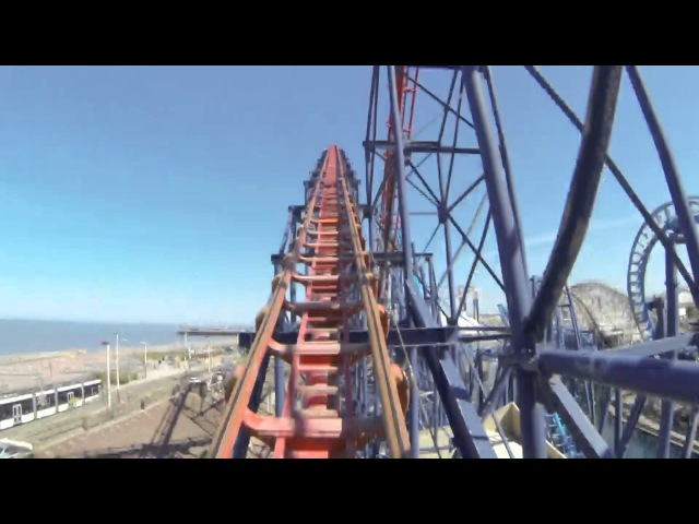 Pepsi Max Big One On Ride POV Blackpool Pleasure Beach 1080p
