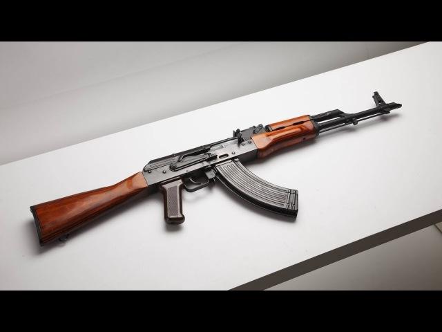 Оружие США или КАК РУССКИЕ В ПОДВАЛЕ КАЛАШ СОБИРАЛИ АК 47 своими руками часть 2