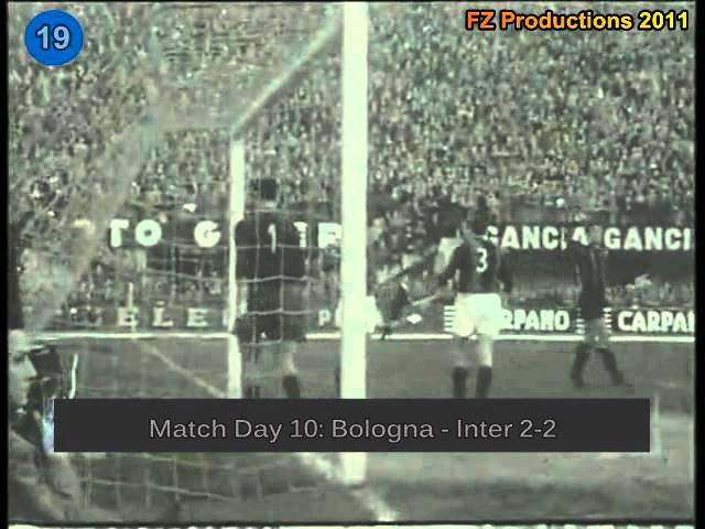Italian Serie A Top Scorers: 1958-1959 Antonio Valentin Angelillo (Internazionale) 33 goals