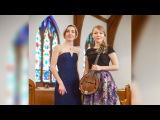 G. F. Handel Arrival of the Queen of Sheba - Ekaterina Skliar and Anna Kislitsyna