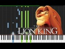This Land The Lion King Piano Tutorial Synthesia Wouter van Wijhe