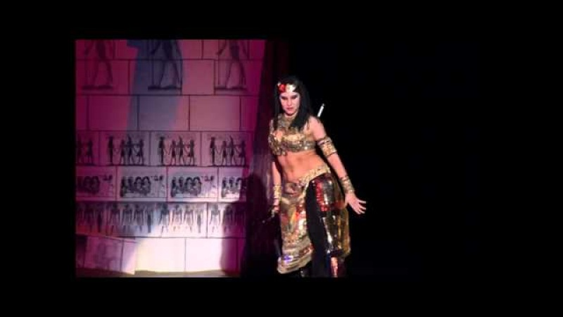 Amazing pharaonic fusion. Nadia Nikishenko.