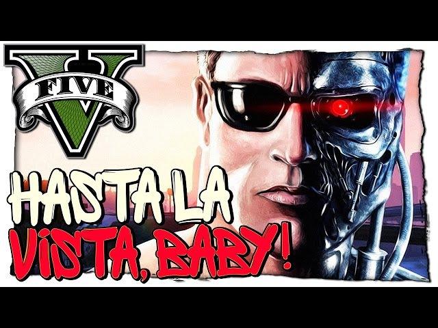 GTA 5 МОДЫ Terminator ТЕРМИНАТОР ВЕРНУЛСЯ