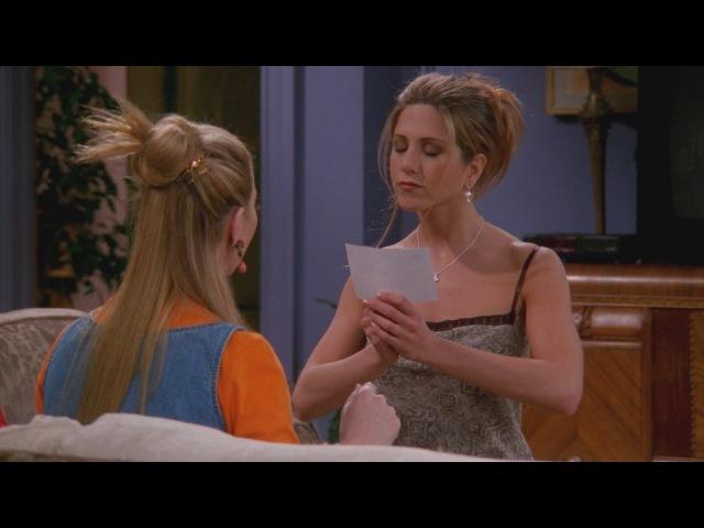 Friends - Rachel going to London