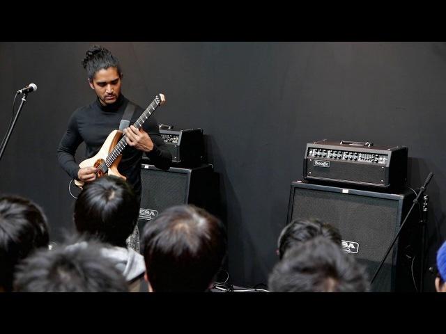 Al Mumin Varberg Demo at Tokyo Guitar ShowGakki Fair 2016