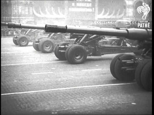 Zhukov Takes The Salute 1956