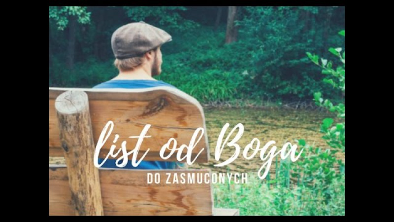 List od Boga do zasmuconych
