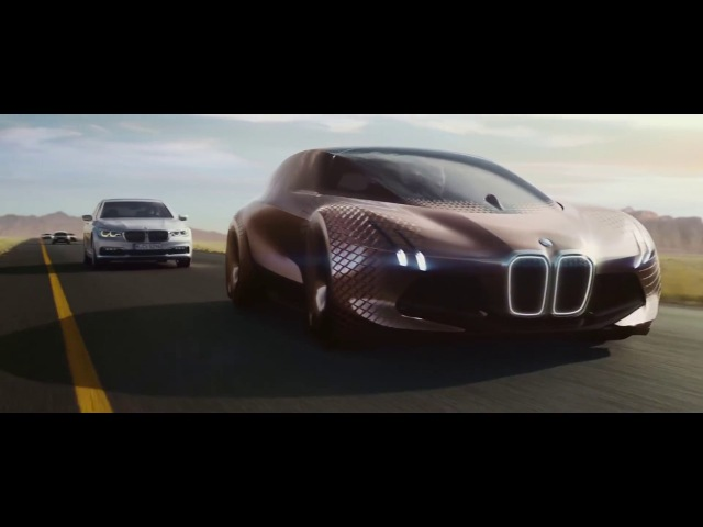 Futuristic BMW advert