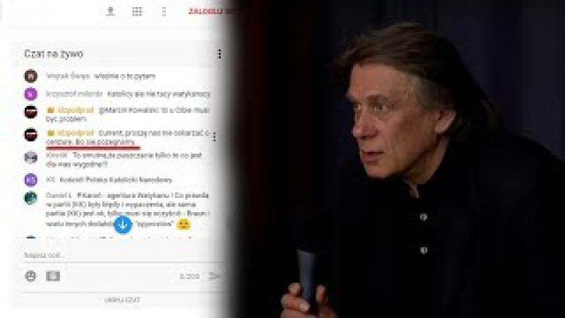 Krzysztof Karoń OSTRO odpowiada na ataki pastora z IPP - CENZURA? PYTANIA od widzów!