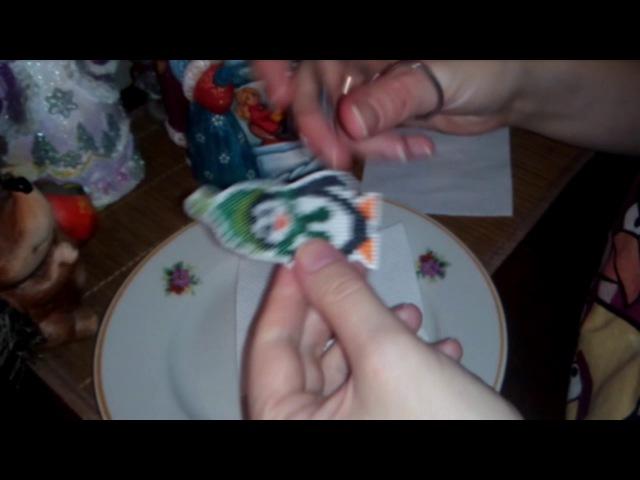 Эксперимент, как сделать пластиковую канву своими руками