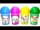Киндер Сюрприз игрушки Барбоскины новая серия 2017 NEW Kinder Surprise eggs español Видео для де