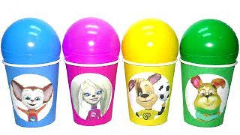 Киндер Сюрприз игрушки Барбоскины новая серия 2017 NEW Kinder Surprise eggs español Видео для де » Freewka.com - Смотреть онлайн в хорощем качестве