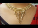DIYHOW TO MAKE DESIGNERS WEAR BRIDAL NECKLACETHE STUNNING HANDMADES..