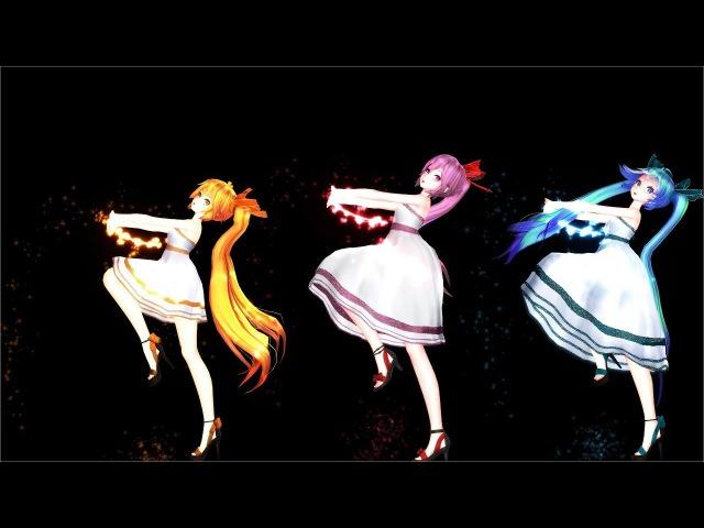 【MMD】LIAR DANCE(ライアーダンス)/MIKU NERU LUKA