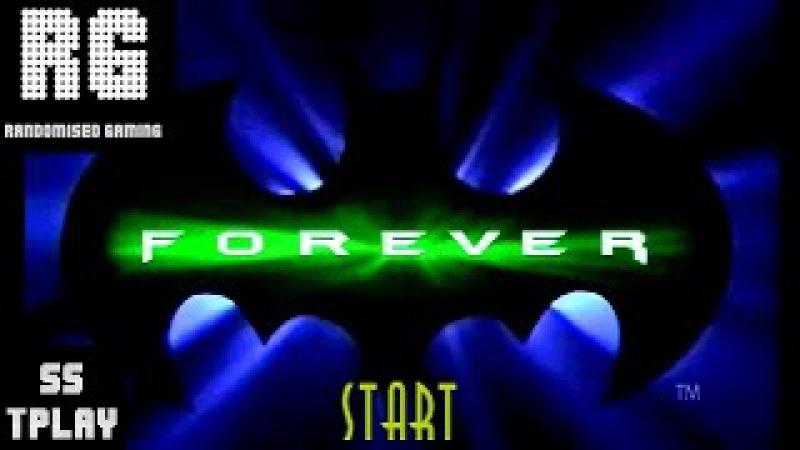 Batman Forever The Arcade Game - Sega Saturn - Robin [TruePlay Playthrough] [No Commentary]