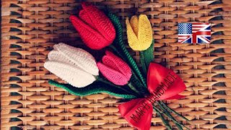 Crochet Tulip | MARYJ HANDMADE