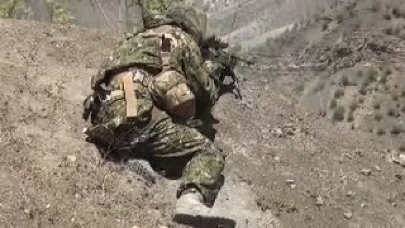 Russian FSB Special Forces Battle Dagestani Militants During Firefight In Gimry Dagestan