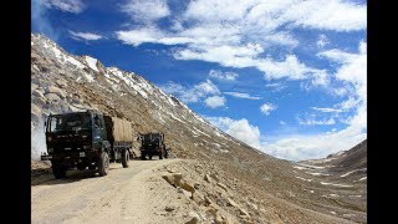 Doklam standoff China says India slapped its own face by deciding to build road in Ladakh