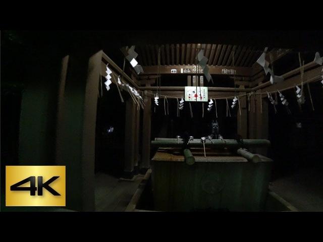 TOKYO SHRINE NIGHT WALK 👻| Setagaya Hachiman Shrine 世田谷八幡宮 [4K]