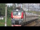 Электровоз ЭП20-035 с поездом№739А Москва-Брянск платформа Кокошкино 9.09.2017
