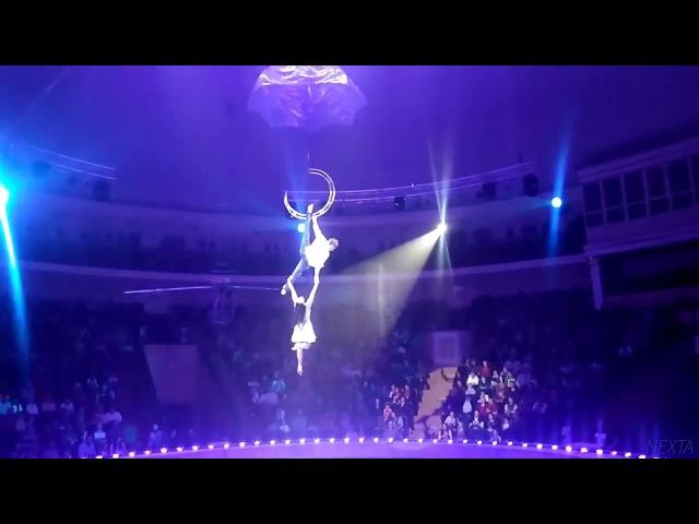 18 Сорвалась воздушная гимнастка в Гомельском цирке