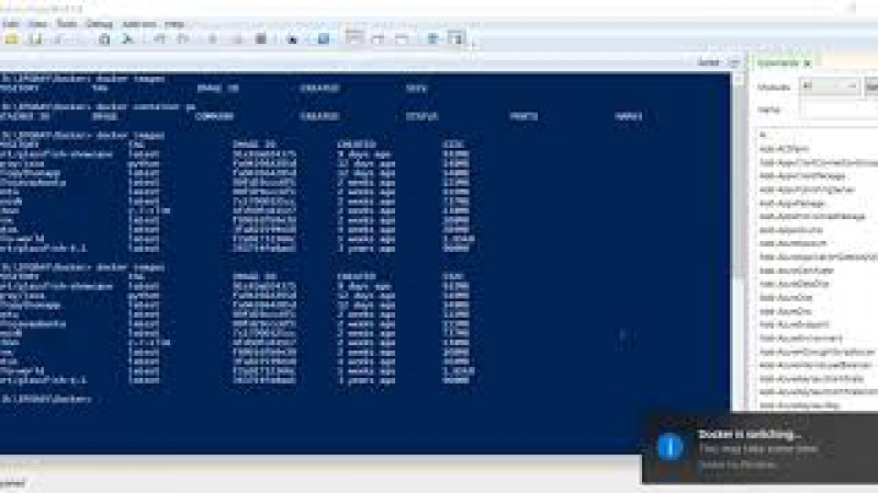 IPGRAY Docker How to switch from windows docker container to Linux container in Windows 10