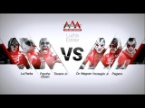 AAA Worldwide La Parka, Texano Jr. &amp Psycho Clown vs Dr. Wagner Jr., Pentag
