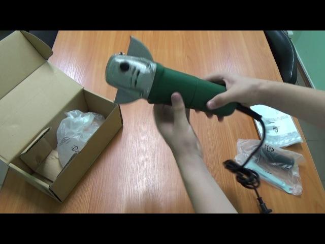 Распаковка болгарки DWT WS08-125 - Интернет-маркет Проводок