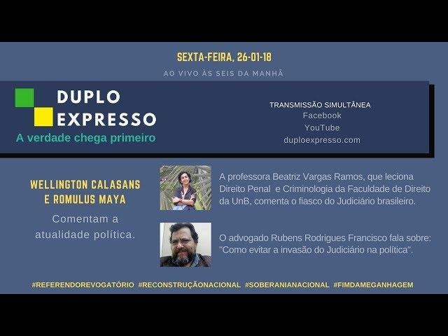 D.Ex. 26/1: o fiasco do Judiciário brasileiro e próximos passos nessa luta