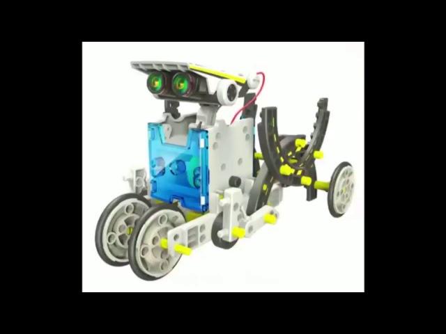 Конструктор на солнечных батареях 14 в 1 Educational Solar Robot kits