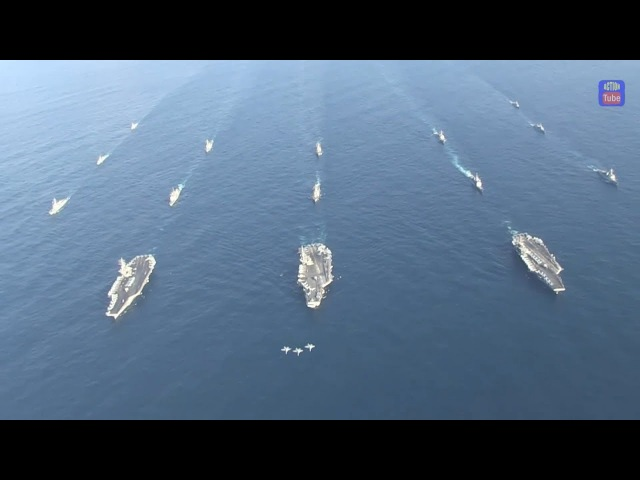 Три Авианосные группы в сторону Кореи/Three-carrier Strike Force to Korea