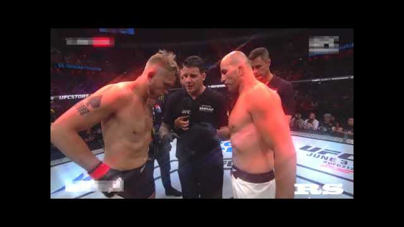 KNOCKOUT Alexander Gustafsson vs Glover Teixeira UFC