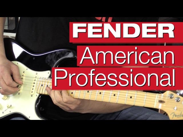 Fender American Pro Stratocaster HSS Shawbucker E-Gitarren-Review von session