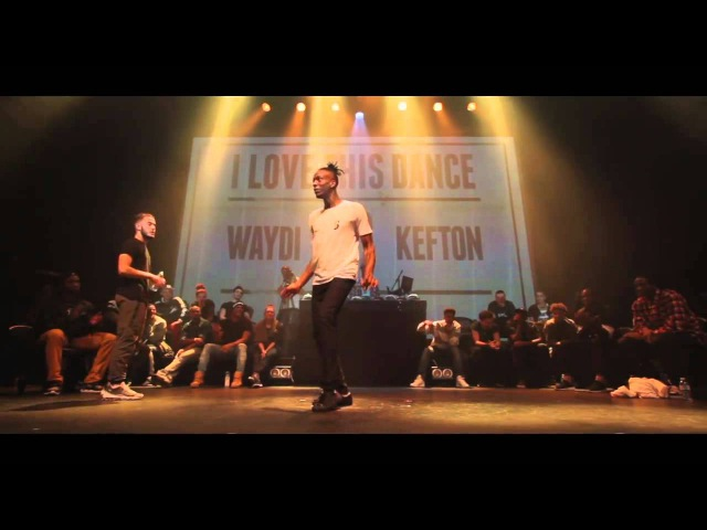Waydi Criminalz Crew VS Kefton I love this dance all star game 2015 Hip Hop Battle