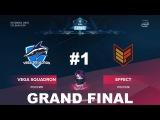 Vega vs Effect RU GRAND FINAL #1 (bo5) ESL One Katowice 2018 Major CIS Qual 11.01.2018