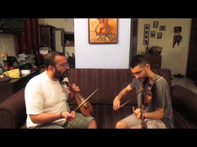 Old bunch of keys. Stergios Loustas (fiddle), Kostas Kiritsakis (Cretan lyra)