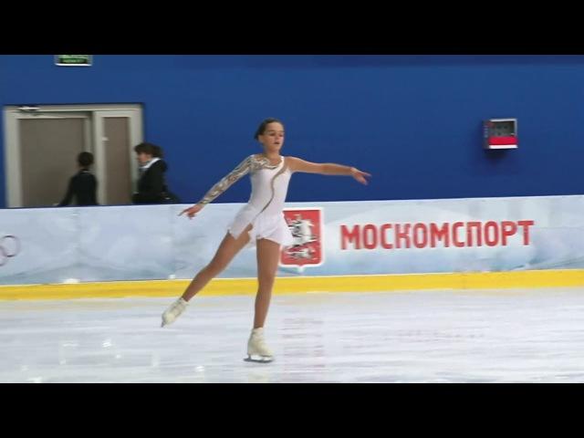Виктория Ющенкова, 5 этап Кубка России Ростелеком КМС, КП