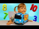 Learn colors numbers with Tayo little bus The Wheels on the bus Nursery Rhymes Song for kids