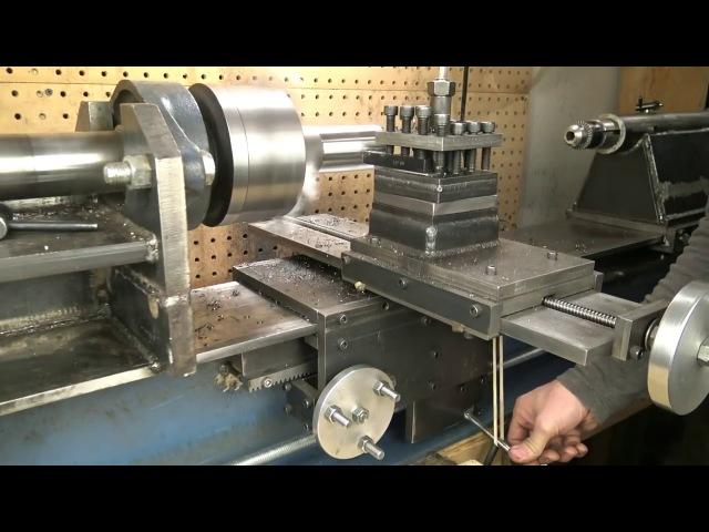Токарный станок из доступных материалов /|\ Lathe made of available materials