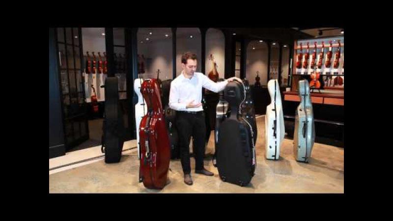 Cello Case Comparison - Bam, Gewa, Hiscox, Kreisler SSC
