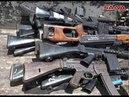 Компетентные органы получают оружие и боеприпасы от вооруженных людей в Тальбессе, сельских Хомс