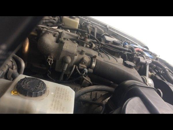 Toyota Land Cruiser 100 series 4.2 turbo diesel 1HD-FTE engine start up rev sound