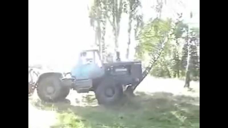 Пародия на Топ Гир Трактор Т 150к avi