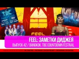 FEEL: ЗАМЕТКИ ДИДЖЕЯ. ЧАСТЬ 42. BANGKOK. NEW YEAR TBC COUNTDOWN FEST